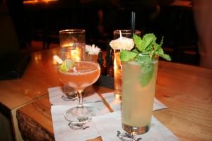 de pegu club cocktail en een gin gin mule